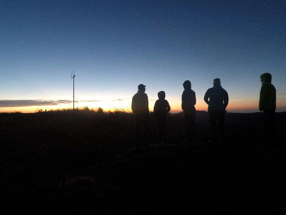 Sunrise on Sassafrass