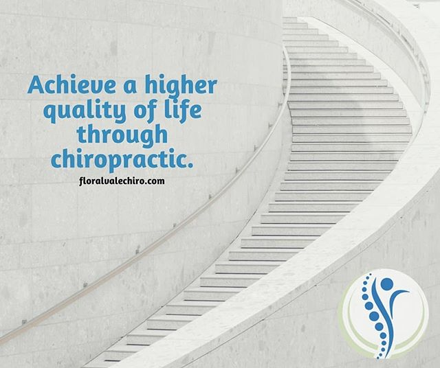 Achieve a higher quality of life through chiropractic.