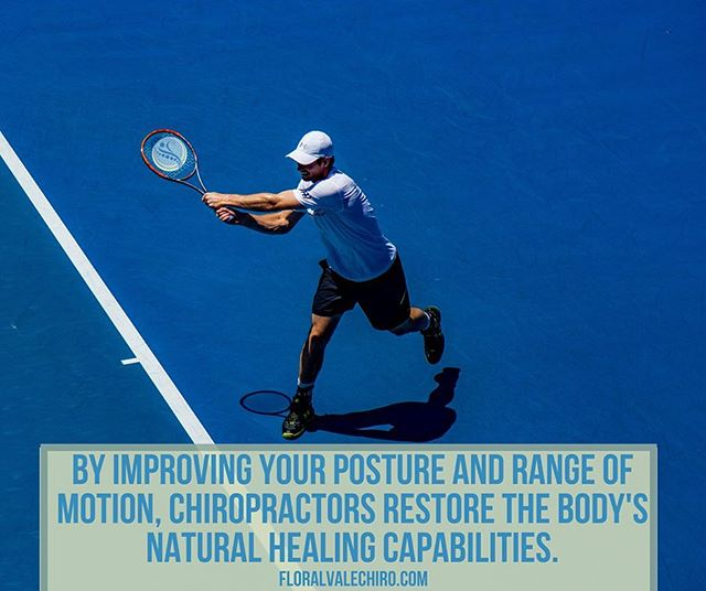 By improving your posture and range of motion, chiropractors restore the body's natural healing capabilities.