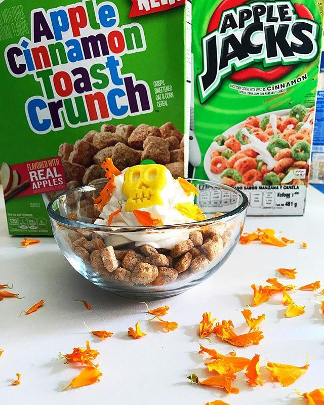 Feliz Día de muertos , hoy y mañana abrimos en nuestros horarios habituales desde las 930 am hasta las 8 pm #elringeneltec #venaecharteuncerealito #desayunocereal #cereallovers #cereal #cerealbar #cerealbarmx
