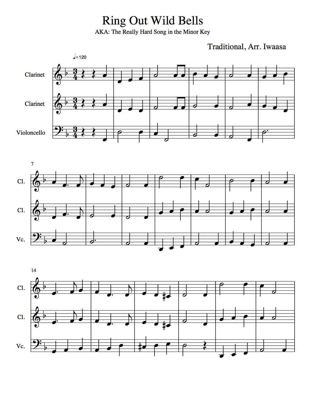 Fifth Grade Christmas Concert — Mr. Iwaasa\'s Music Emporium