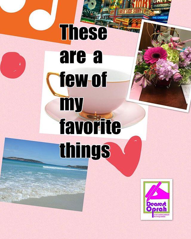 #dearestoprah #love#podcast #podcastshow #understand #fun#popcultureart #treatyoself #tell #story#teatime #broadway #beach #music#pink