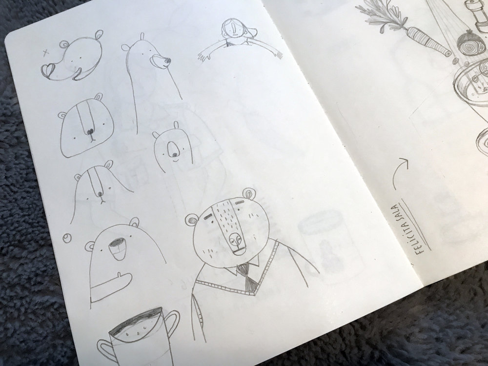 Drawing Bears