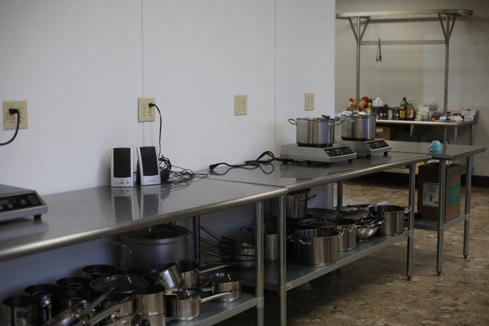 Culinary arts classroom