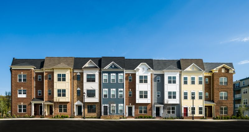 photo of Townhomes in the neighborhood of libbie mill - midtown