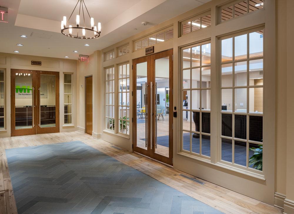 photo of lobby to gumenick properties headquarters