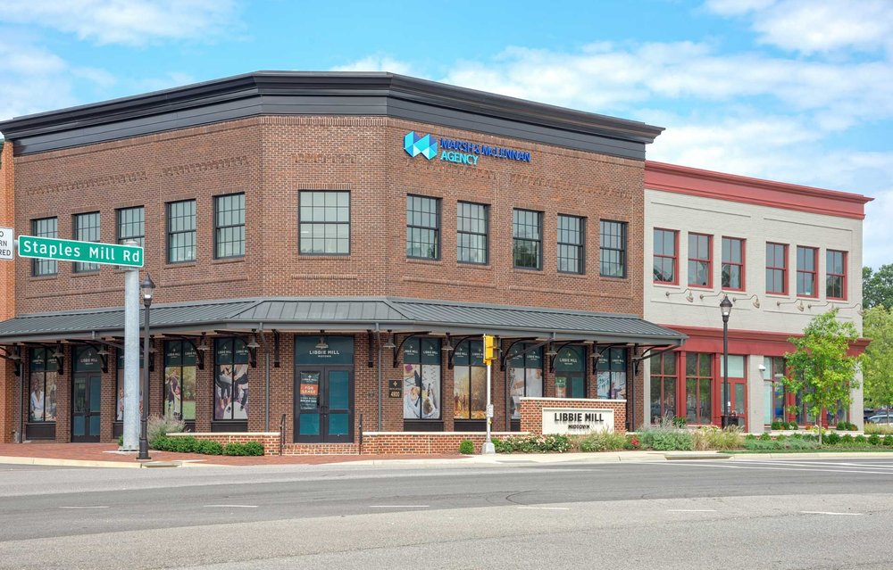 photo of marsh and mclennan office space exterior