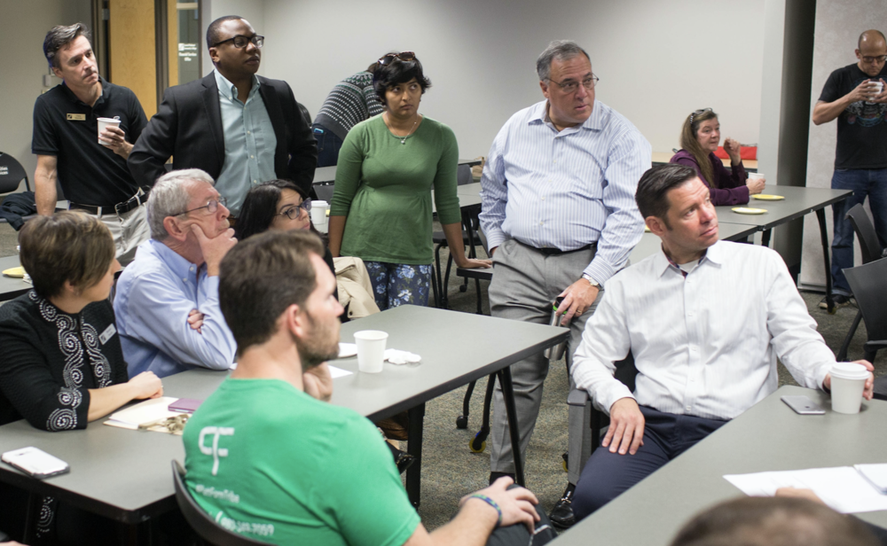 One Million Cups Charlotte is one of the places where entrepreneurs come together to help each other succeed