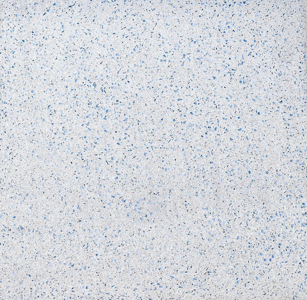 Ultra White Terrazzo**