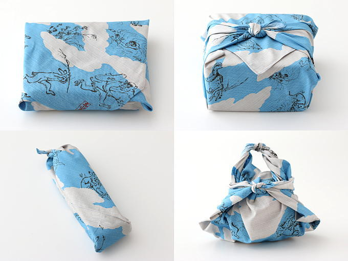 Make your wrapping part of your gift with Furoshiki.