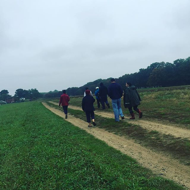 First batch of farmers checking out the land available at #snakedenfarm. Our next tour is Tuesday! Check out the website for more info.