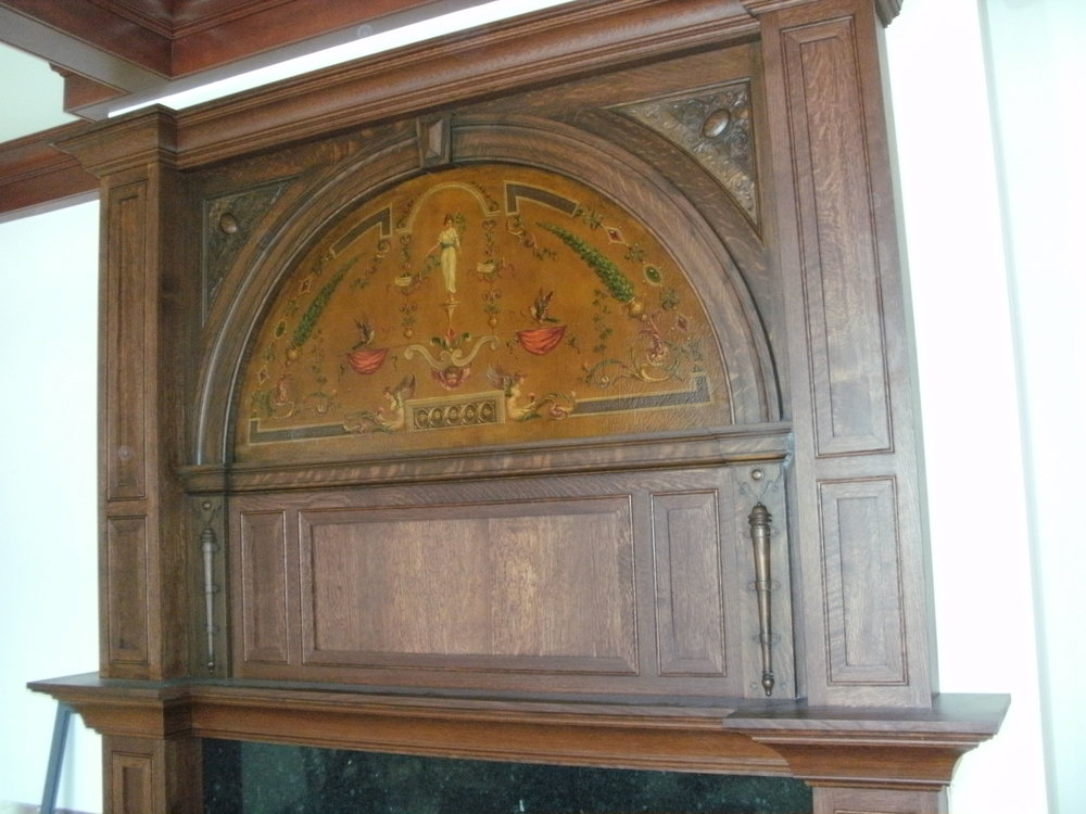 Mitchell Estate Mantel