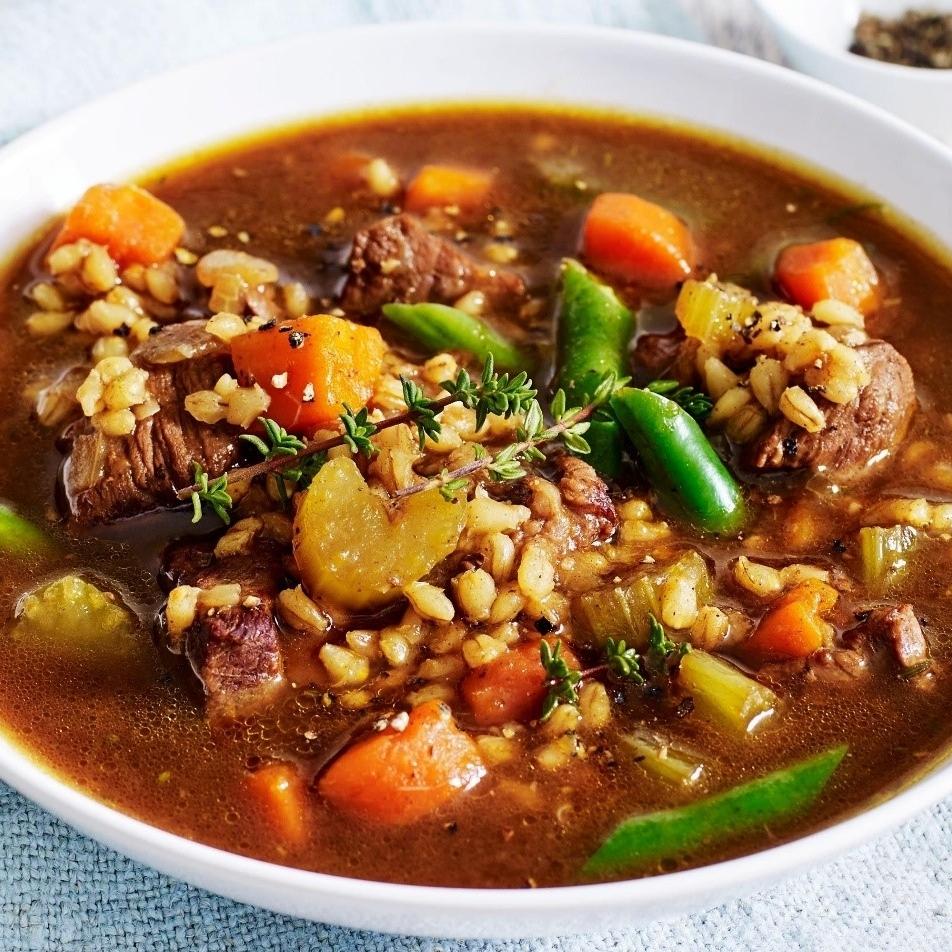 Beef Vegetable Soup $6.95