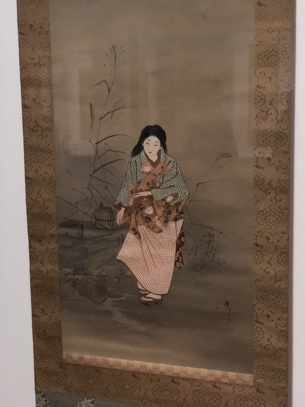 A picture of one of my favorite paintings, pardon my low quality picture.