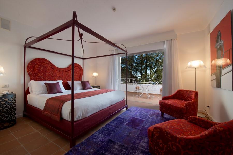 Gamba 1918 manifatture tessili realizzazioni contract service Suite Hotel Piccolo Sant' Andrea Praiano