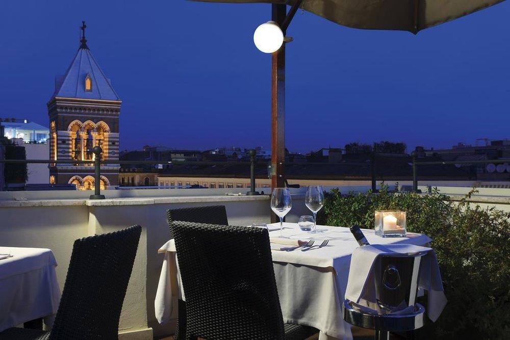 Hotel Artemide, Ristorante Ambrosia - Roma