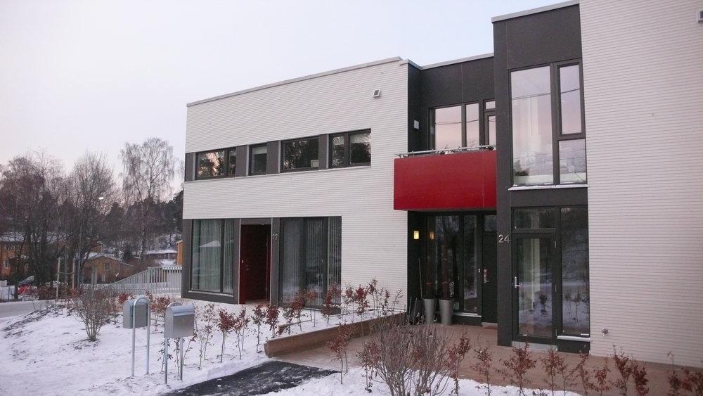 Boliger Fornebu , Rolfstangen Snarøya
