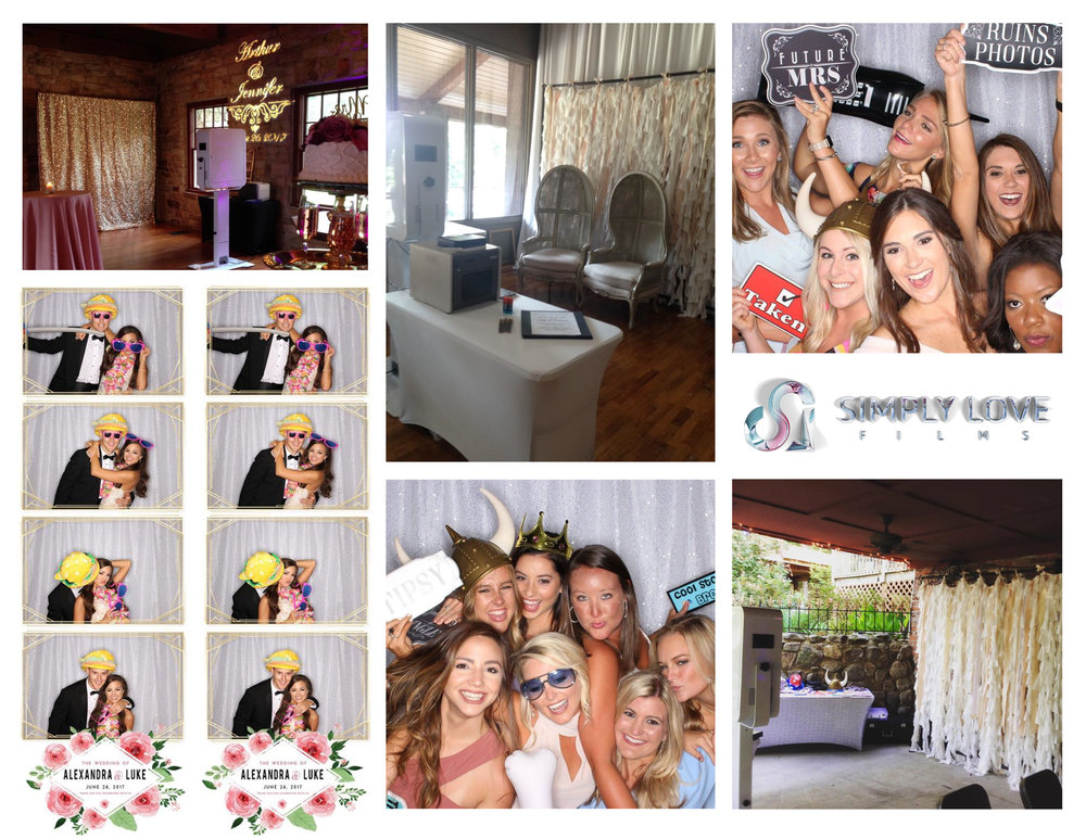 Photo Booth - Everyone's Party favorite! Entertain your guests and provide the perfect memento for them to remember your day by!