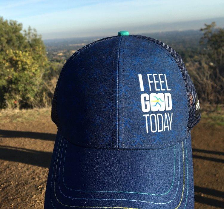 941021618b3 I Feel Good Today trucker by BOCO Gear — California Running Lab