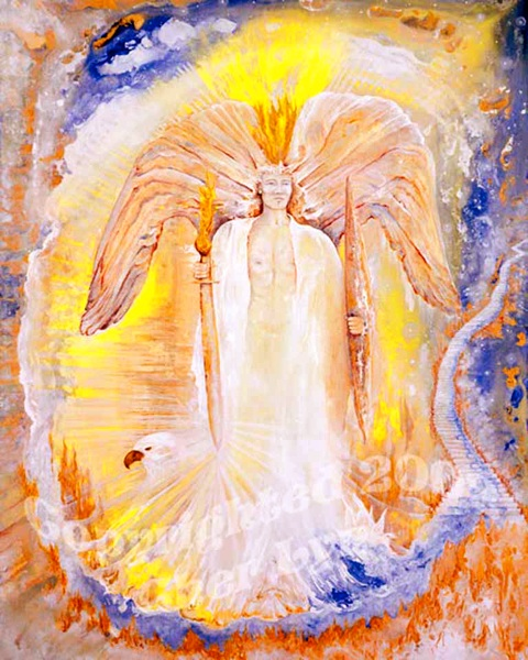 Archangel Michael's Fire of Transformation