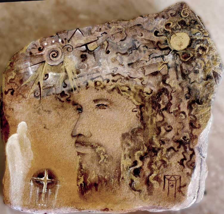 Jesus Rock Painting.Sold.jpg