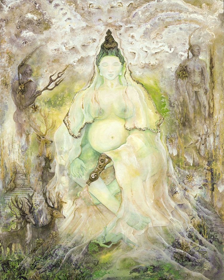 Quan Yin at Summer Solstice