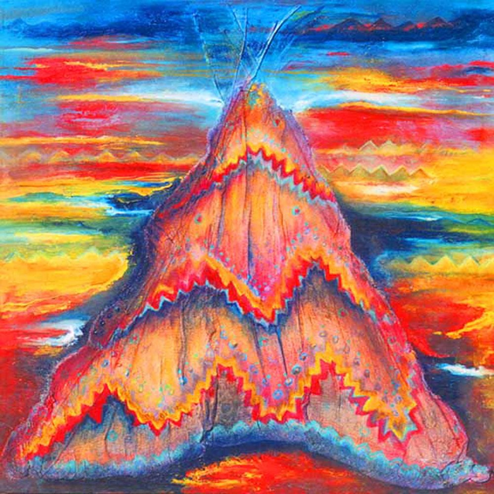 Sunset Tipi