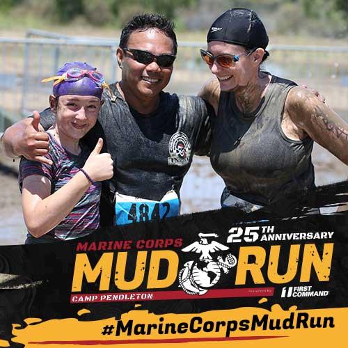 Marine Corps Mud Run Family