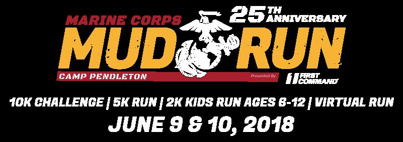 Marine Corps Mud Run Logo