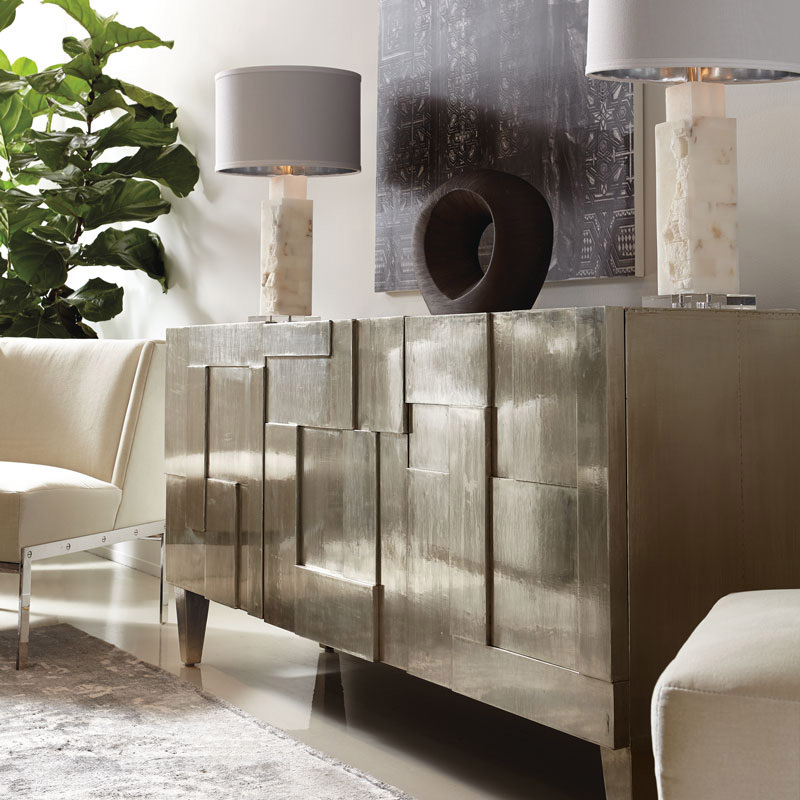 Matthews Interiors - Office Furniture - Ambiencedore - GeoMetric-Silver-3D-Credenza.jpg