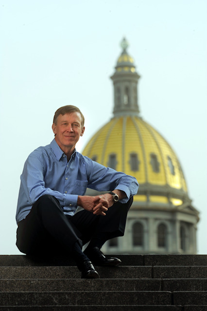 Governor John Hickenlooper, Colorado