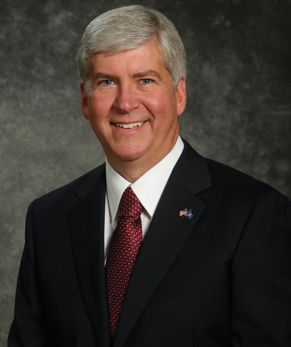 Rick Snyder, Governor of Michigan