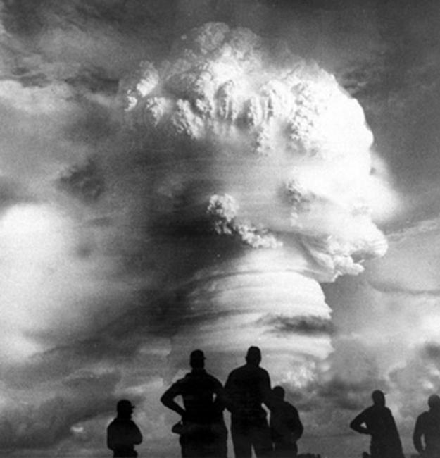 Los Alamos National Laboratory_Time & Life Pictures_Getty Images - Enewatek Atoll - hidrogén bomba robbantás