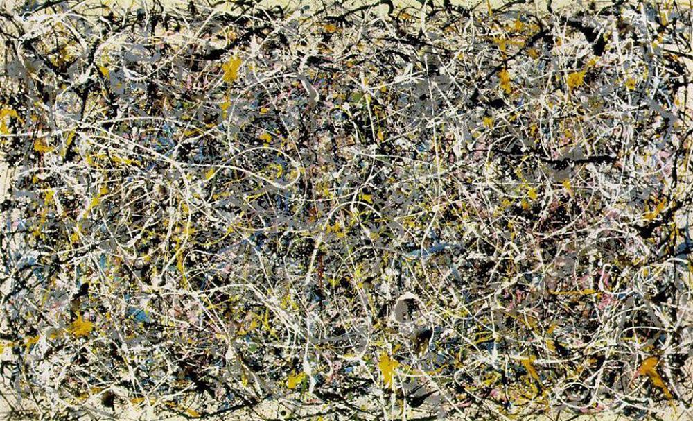 Jackson Pollock, Hulladék című és technikájú képe