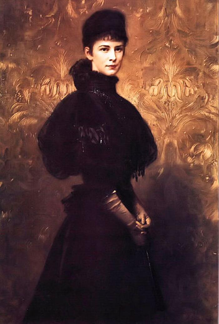 Benczúr Gyula - Erzsébet királyné