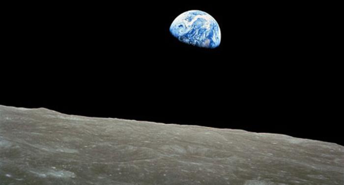 Earth from the Moon - NASA