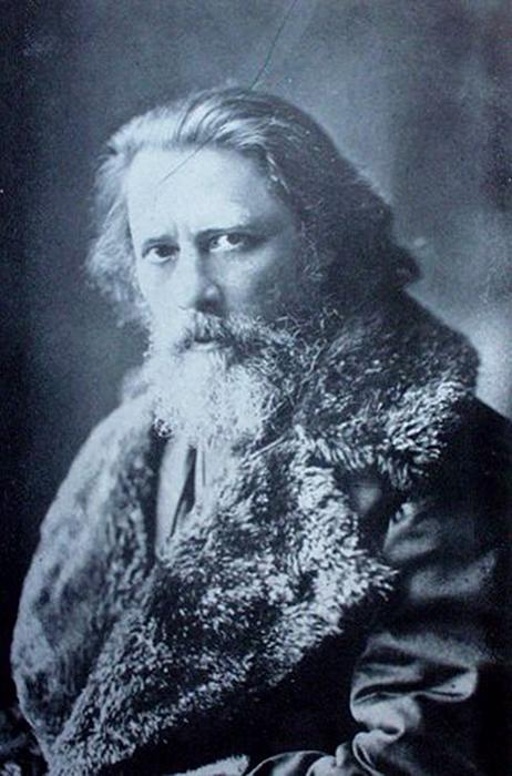 Zichy Mihály fotója 1881-ben, Bécs