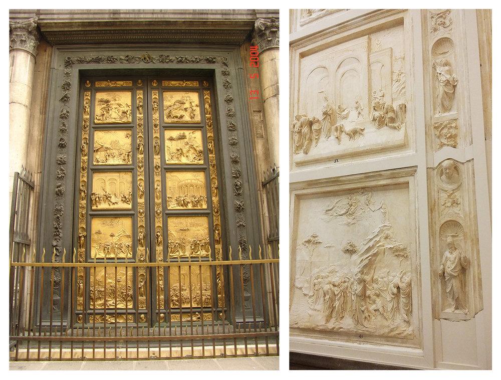 a Paradicsom kapuja és a madridi másolatok