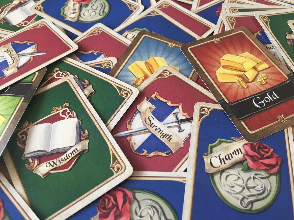 Ability cards!