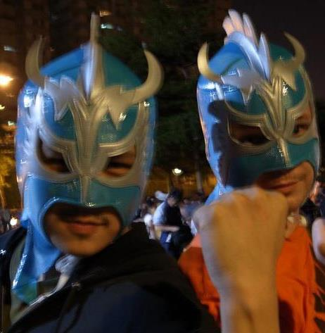My friend and I after we saw a Japanese Wrestling show many years ago. ULTIMO DRAGON!!!