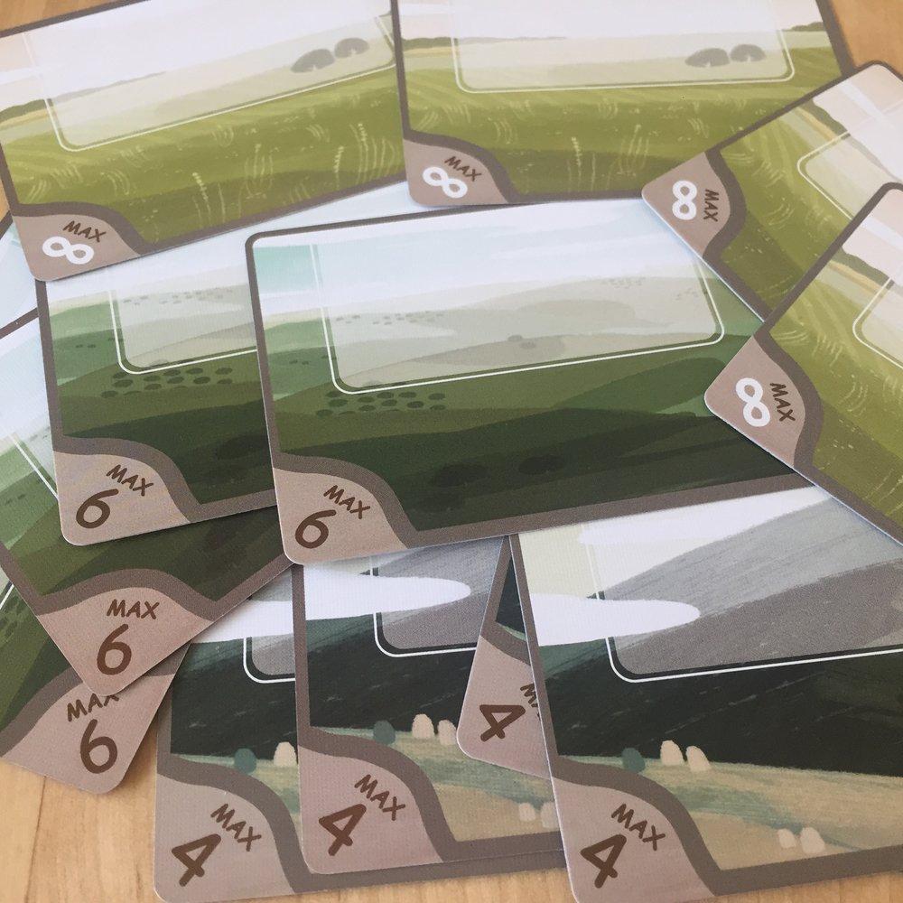 12 Field Cards