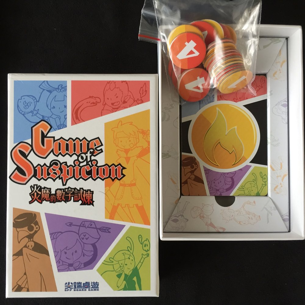Tokens, Cards, & Laughter in a Small Box!