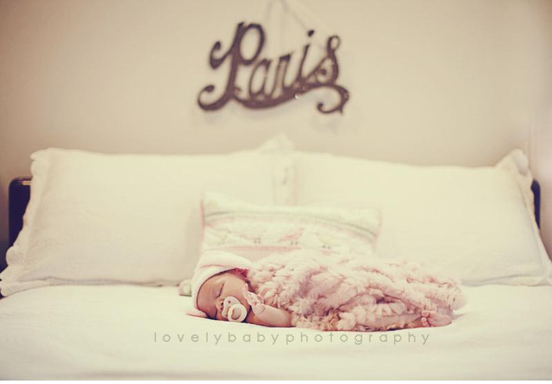sacramento newborn baby photography