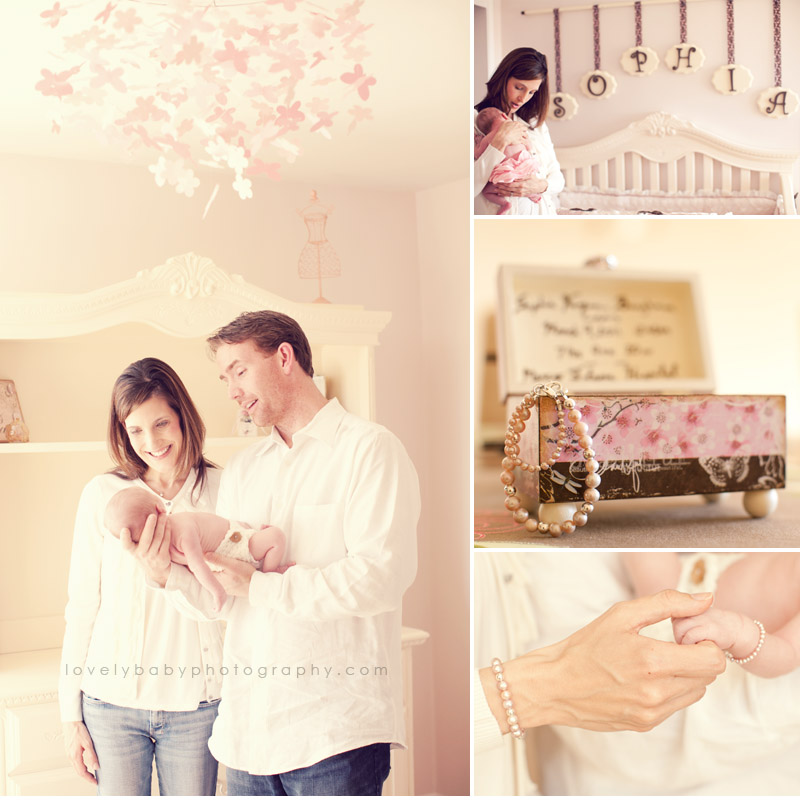 el dorado hills on location newborn baby photography