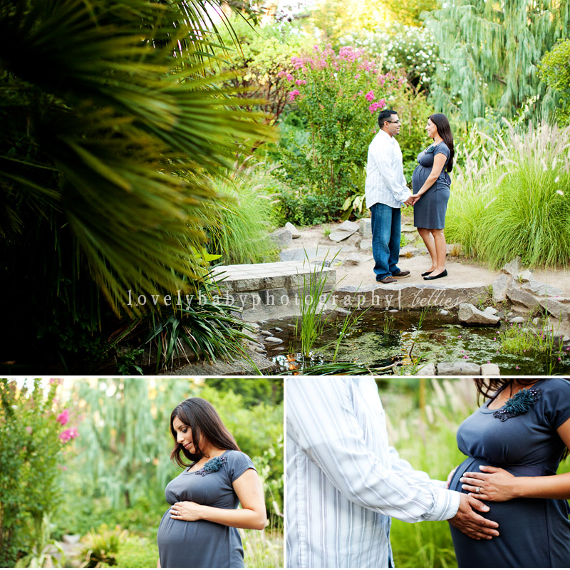 land park maternity portrait session