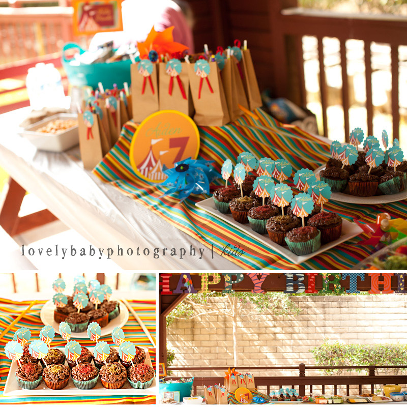 carnival birthday party theme, custom party planning sacramento