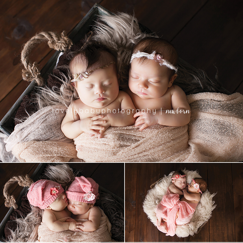 01 newborn twin girl photography sacramento