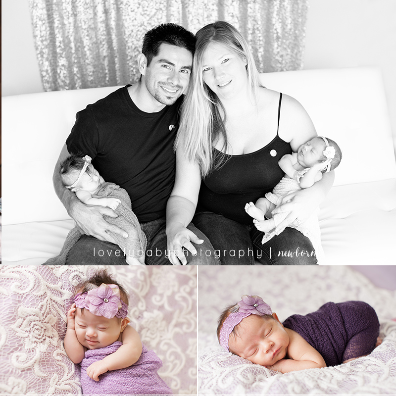 02 newborn twin girl photography sacramento