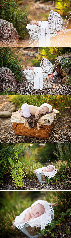 sacramento outdoor newborn photographer