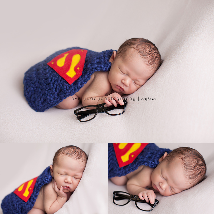 02 superhero newborn sacramento newborn boy photographer